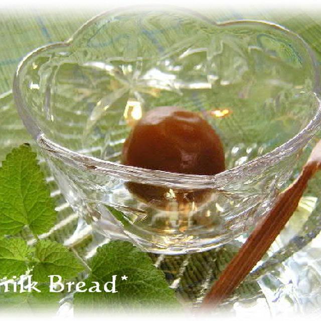 梅酒の梅の甘露煮の作り方