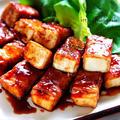 ♡簡単・時短・節約♡厚揚げの肉巻き生姜焼き♡【#お弁当#甘辛#作り置き】