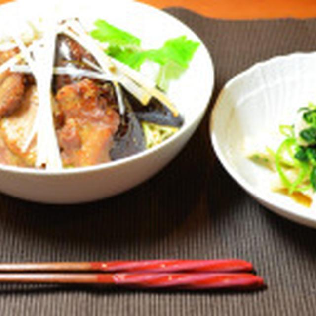 塩麹を使った減塩チャーシュー丼☆