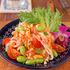 サラダ界のニューフェイス☆青パパイアなし「ソムタム風サラダ」