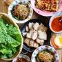 韓国料理でランチ
