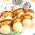 椎茸とうずら卵串☆お弁当やおつまみに♪