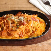 隠し味でお店の味みたいに♪スパゲティーナポリタン