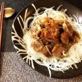 極上の柔らかさ。砂肝オニオンの和風蜂蜜BBQサラダ(糖質9.1g)