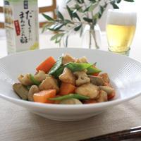 根菜と鶏むね肉の、コク旨さっぱり炒め