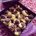 バター無し!栗とサツマイモのプチケーキ☆
