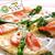コープのにこにこレシピ「菜の花とハムの春のピザ」
