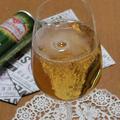 水出し紅茶と白ワインのガラナカクテル
