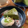 濃厚♡お抹茶ガトーショコラ【#簡単レシピ#お菓子#ケーキ#ホワイトチョコ#父の日】