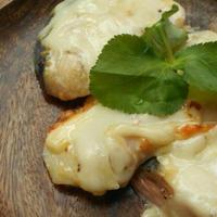 山漬け鮭で味噌マヨチー焼き