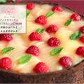 【レシピ】洋梨のムースとカカオのタルト&夏野菜のラタトゥイユ
