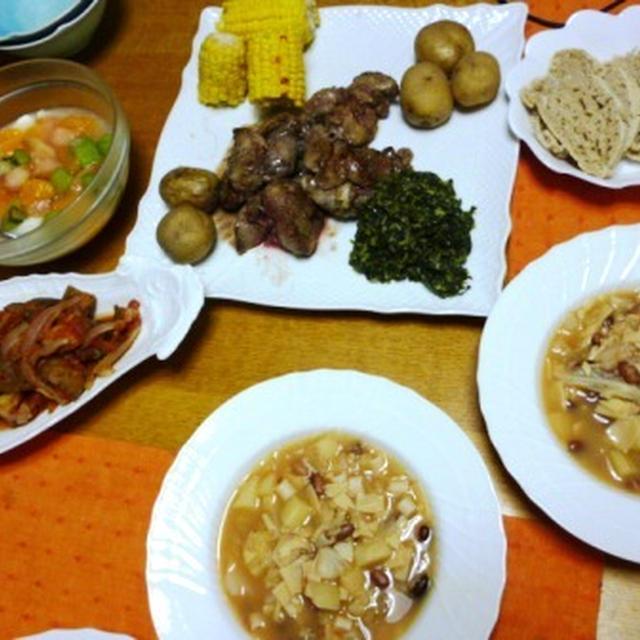 夏バテ&貧血に鉄分補給!さわやかな味付けがクセになるポルトガル風「鶏レバーのステーキ」と「ほうれん草のビネガー炒め」、そして・・・