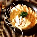 旨みすんごい。激柔らか茹で鶏の蜂蜜おろし文昌鶏風(糖質7.5g)
