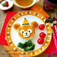 【ハロウィン祭】前夜祭★ダッフィーの朝食プレート