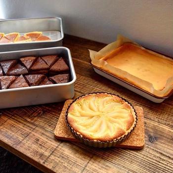 洋梨のタルト と 焼き菓子