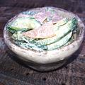 きゅうりとハムのマヨ粉チーズ合え(2分で簡単)