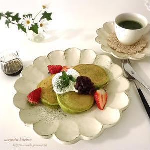 ふわ・もち・しっとり♪おうちで焼ける絶品「抹茶パンケーキ」