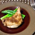 玉ねぎドレッシングでBBQチキン。簡単に味が決まってお肉柔らかレシピ。