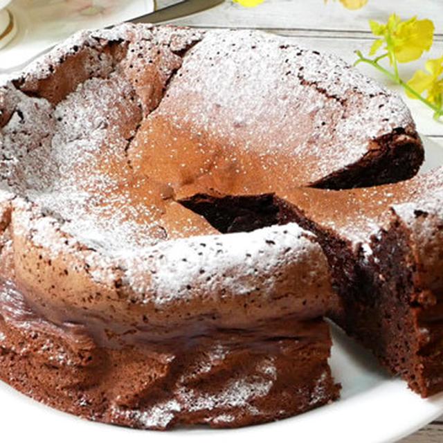 【グルテンフリー】板チョコで作るしっとりガトーショコラ