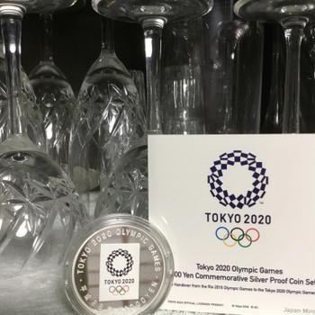 やっと飾れた東京オリンピック記念硬貨