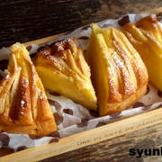 【簡単!!!カフェおやつ】りんごのまるいバターケーキ