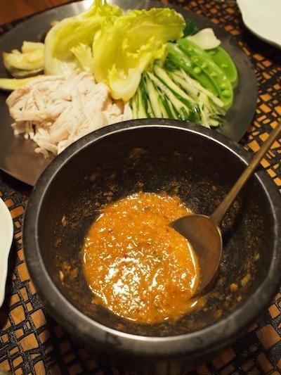 《レシピ》棒々鶏にピリ辛胡麻ダレ