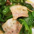 ◆簡単5分!!菜園ピーマンとベーコンの バター塩コショウ炒め(^^♪ by あきさん