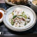 コスパ良し!1尾で2人分 ~焼き秋刀魚の混ぜ寿司~