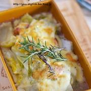 【レシピブログ連載】際立つ甘み!!驚きの美味しさ!!『白菜とベーコンのチーズ焼き』