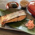 作り置きでお弁当にも ひと手間かけた鮭の西京焼き