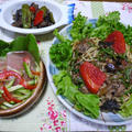 夏野菜だょぉ♪茄子とピーマンの肉味噌炒め煮