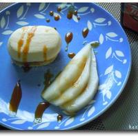 紅茶薫る☆洋ナシのムース