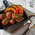 【作りおき】ピーマンの肉詰め BBQソース(256円)