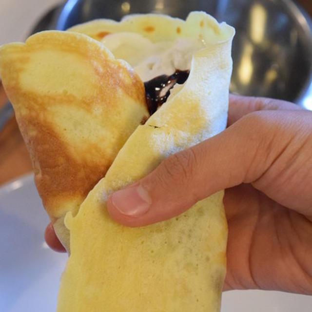 森永 ホット ケーキ ミックス クレープ もちもちクレープ 天使のお菓子レシピ