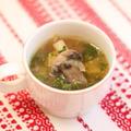 TODAY-S SOUPポルチーニとセロリの白ワインスープ