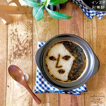 *まとめの時間です 6月の「インスタお粥部 」海苔の佃煮で、よーじや粥