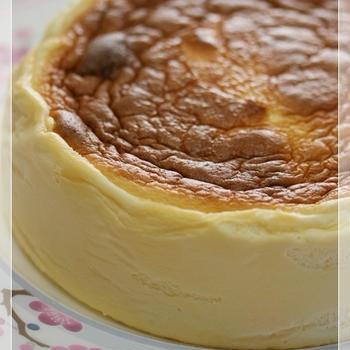 スフレチーズケーキ(糖質制限) 今となっては・・・、 花粉症