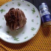 チョコモンブランシナモンケーキ