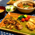 「炊き込みご飯の味」で 簡単煮物