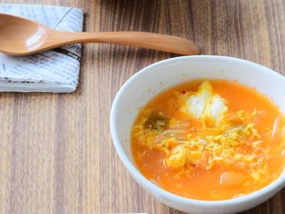 >春雨のキムチ味噌スープのレシピ by ジンジャーやまざきさん