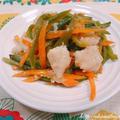 【スパイス大使】ハウスおろし生しょうがを使って、白身魚(パンガシウス)と野菜のポン酢しょうが炒め
