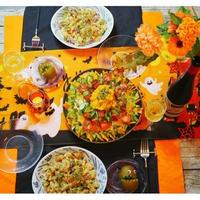 キユーピーハーフでマッシュドパンプキン! 秋冬の食卓にぴったりなオレンジが鮮やかサラダ