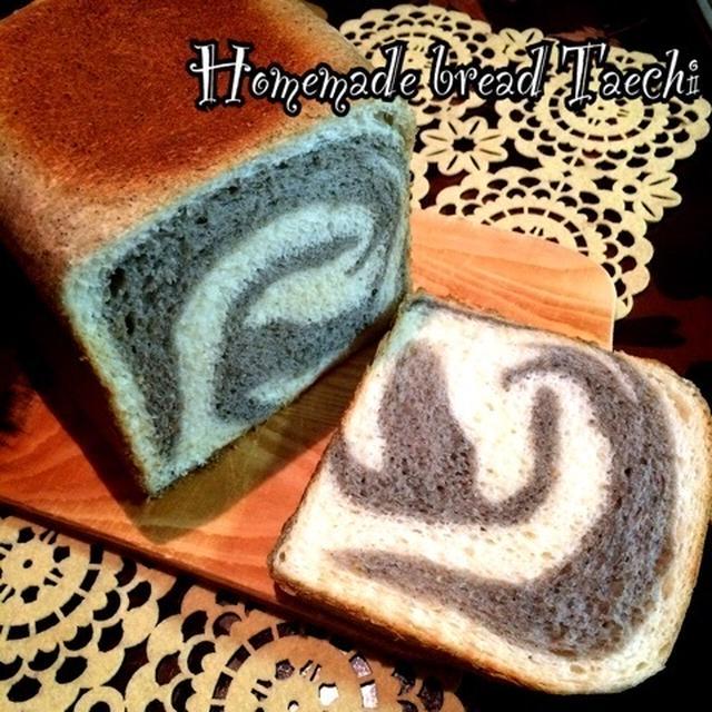 しまうま模様の食パン
