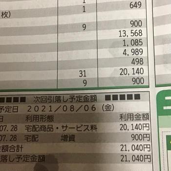 ゲゲッ!2万円超えちゃった