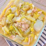 ほっこり味。白菜とツナのうま煮