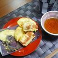 魚肉ソーセージ&玉ねぎの天ぷら
