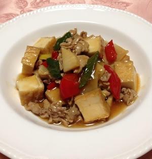 家常豆腐(ジャージャンドーフ)