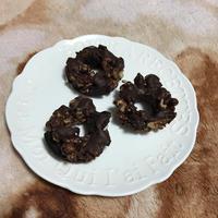 【バレンタイン】オレオとグラノーラのチョコレートクランチ