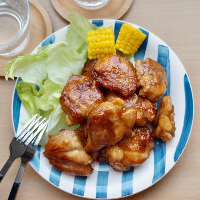 【下味冷凍で作り置き】鶏肉の甘辛オイスター焼き#簡単#お弁当#節約