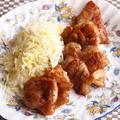 鶏もも肉の甘辛ソテー